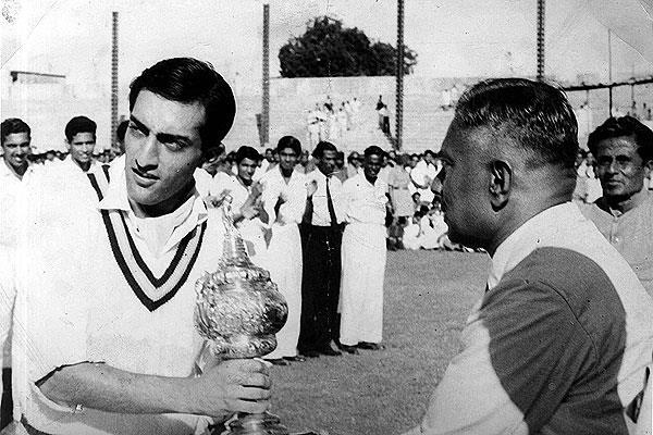 आंख में खराबी आने के 6 महीने से भी कम समय में पटौदी ने अपने टेस्ट करियर की शुरुआत की। वे दिल्ली में इंग्लैंड के विरोध में खेले। वे अपनी दाईं आंख कैप के नीचे छुपाकर खेलते थे। मद्रास चेन्नई में अपने तीसरे ही टेस्ट में पटौदी ने 103 रन बनाए। उनके इन रनों की बदौलत भारत इंग्लैंड के खिलाफ अपनी पहली सीरीज जीतने में सफल हुआ।