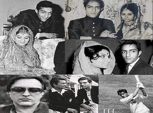 नवाब पटौदी ने प्रसिद्ध बॉलीवुड अभिनेत्री शर्मिला टैगोर से शादी की थी। उनके 3 बच्चे हैं जिनमें बॉलीवुड अभिनेता सैफ अली खान और अभिनेत्री सोहा अली खान के अलावा ज्वेलरी डिजाइनर सबा अली खान शामिल हैं।