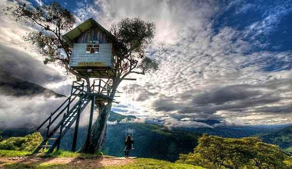 ला कासा डेल अरबोल - यह एक छोटा सा हाउस है जो घाटी के मुहाने पर एक पेड़ पर बना है। यहां आने वाले सैलानियों को यहां पर झूले पर झूलने का भी अवसर दिया जाता है।