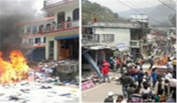 अगस्त्यमुनि बाजार में युवती से छेड़छाड़ के बाद माहौल तनावपूर्ण, भारी पुलिसबल तैनात