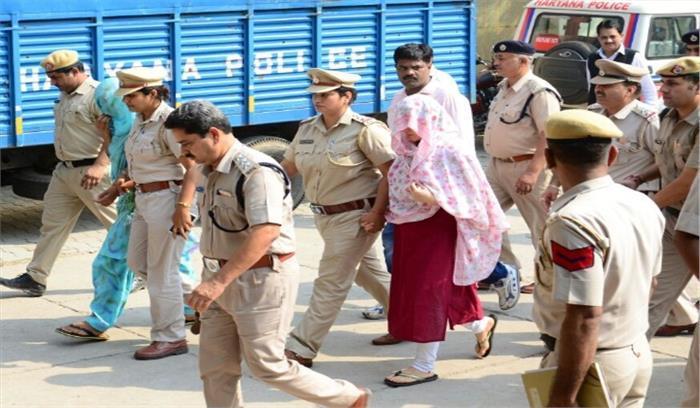 पंचकुला कोर्ट ने हनीप्रीत को फिर से 3 दिन की पुलिस रिमांड पर भेजा, जांच में नहीं कर रही सहयोग