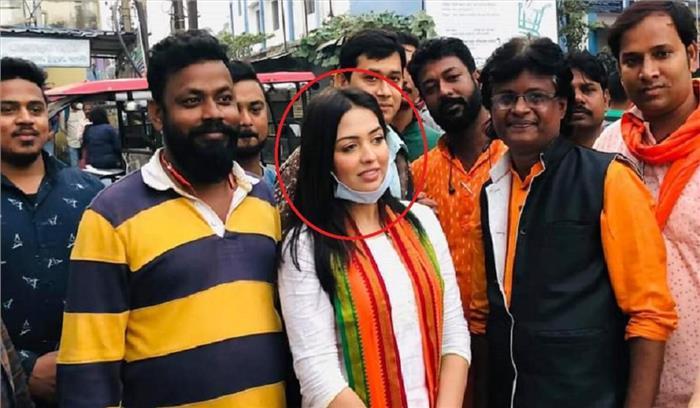 कार में कोकीन लेकर जा रही थी भाजपा की युवा नेत्री पामेला गोस्वामी , पुलिस ने किया गिरफ्तार