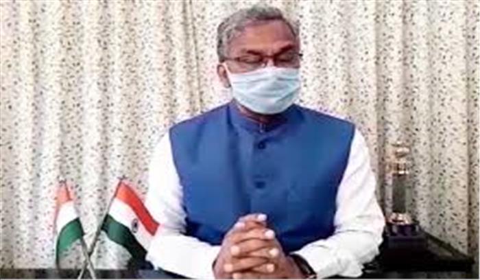 उत्तराखंड के मुख्यमंत्री त्रिवेंद्र सिंह रावत कोरोना पॉजिटिव हुए , करीबियों को टेस्ट करवाने की दी सलाह