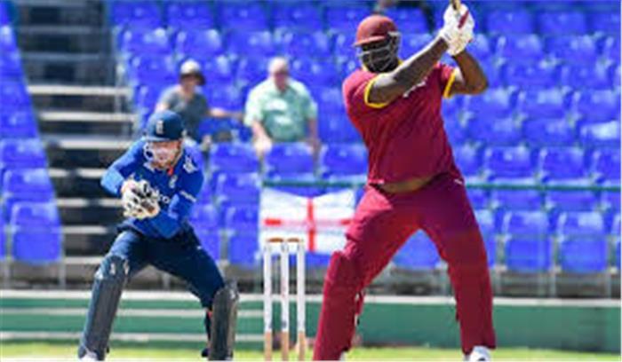 6.5 इंच लंबे और 140 किलो के इस कैरेबियन क्रिकेटर ने जब मैदान पर की छक्कों की बरसात....देखिए वीडियो