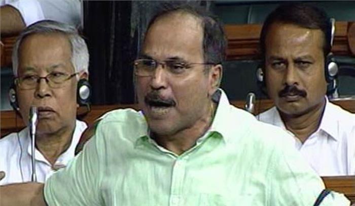 Loksabha Live - कांग्रेसी नेता अधीर रंजन चौधरी बोले - सोनिया -  राहुल गांधी बाहर क्यों हैं, क्यों नहीं इन्हें जेल में डाल देते