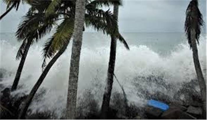 Cyclone Yaas Live - तेज बारिश - प्रचंड हवाओं से दहला ओडिशा - बंगाल , सुमद्र के नजारे खौफनाक