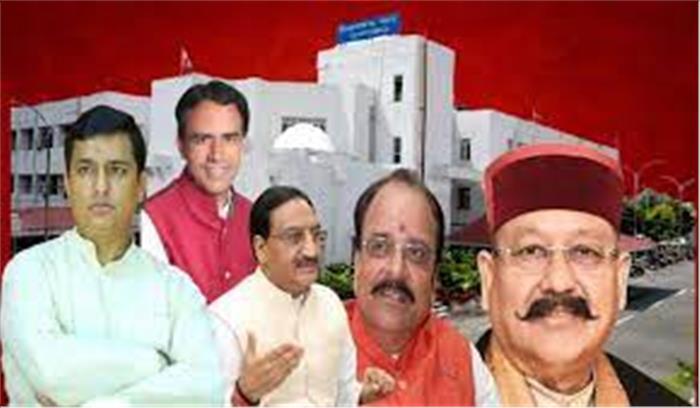 देहरादून - त्रिवेंद्र रावत के इस्तीफे के बाद नए मुख्यमंत्री के नाम पर मंथन , धन सिंह रावत के बाद अब निशंक भी दौड़ में आए