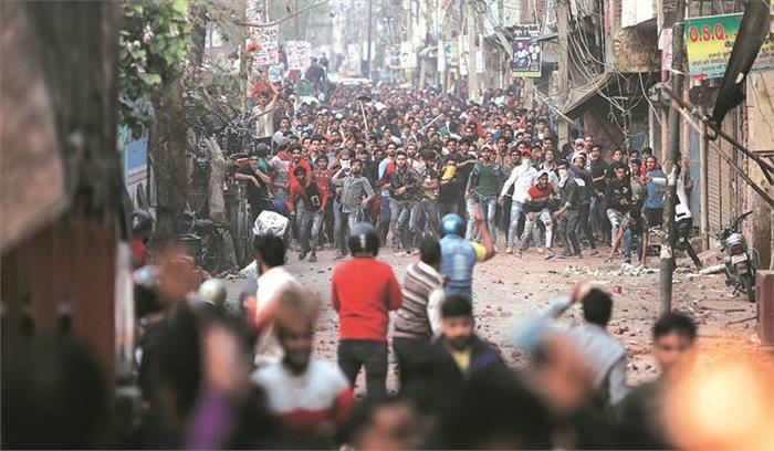 Delhi violence LIVE – उपद्रवियों की करतूत से सहमी – थमी दिल्ली , जानें पल-पल का घटनाक्रम