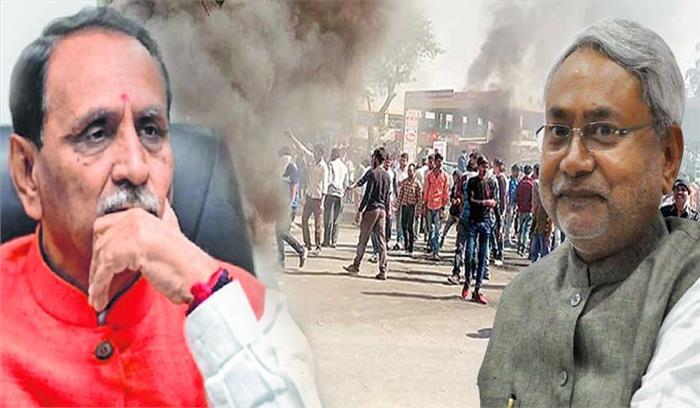उत्तर भारतीयों पर नहीं थम रहे हमले , सूरत में बिहार के अमरजीत की सिर पर रॉड मारकर हत्या