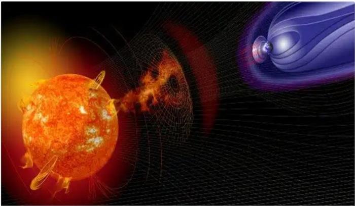 पृथ्वी से आज या कल टकरा सकता है सौर तूफान , मोबाइल, जीपीएस, सैटेलाइट टीवी सेवाएं होंगी प्रभावित