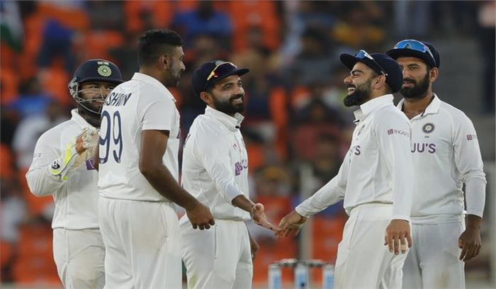 IND VS ENG 3rd Test - नरेंद्र मोदी स्टेडियम में टीम इंडिया ने रचा इतिहास , भारतीय फिरकी के आगे
