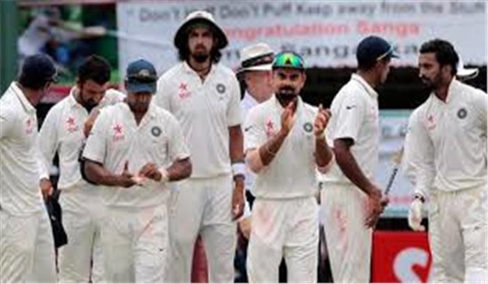 IND VS ENG 2nd TEST MATCH LIVE - हिसाब बराबर , दूसरे टेस्ट भारत ने मेहमान टीम को 317 रनों से धूल चटाई