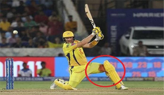 खून रिसता रहा - वॉटसन चेन्नई को खिताब दिलवाने के लिए दौड़ते रहे , भज्जी का खुलासा- मैच के दौरान थे गंभीर रूप से चोटिल