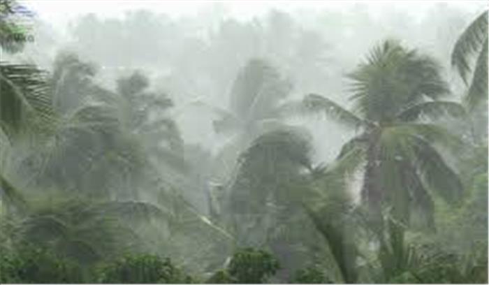 केरल में मानसून लाया तबाही, 16 लोगों की मौत 6 करोड़ का नुकसान