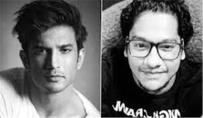 NCB ने सुशांत सिंह राजपूत के दोस्त सिद्धार्थ पिठानी को किया गिरफ्तार , मुंबई लाकर होगी पूछताछ