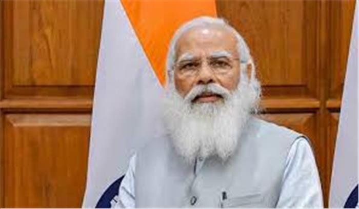 पीएम मोदी ने कांग्रेस पर बोला हमला , कहा - वैक्सीनेशन का रिकॉर्ड देखकर एक पार्टी को बुखार आ रहा है