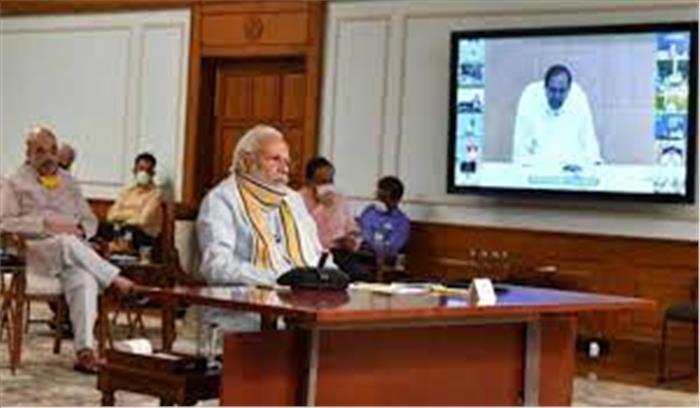 कोरोना की नई लहर पर पीएम मोदी सभी मुख्यमंत्रियों संग करने मंथन बैठक , ममता बनर्जी इस बार फिर नहीं आएंगी