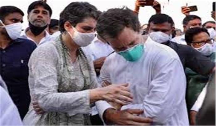 राहुल प्रियंका फिर हाथरस के लिए निकलेंगे , यूपी कांग्रेस प्रदेश अध्यक्ष को किया हाउस अरेस्ट