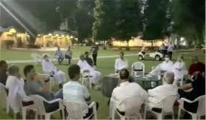 गहलोत सरकार जादुई आंकड़ा जुटाने में जुटी , पायलट समर्थक 22 विधायक जयपुर नहीं गुरुग्राम के फार्महाउस में