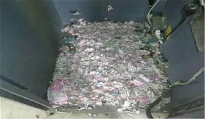 अब एटीएम में रखे पैसे भी सुरक्षित नहीं, चूहों ने कुतरे 12 लाख रुपये