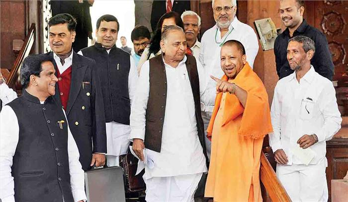 मुलायम सिंह यादव का बंगला बचाने का फॉर्मूला हुआ लीक, CM योगी को दिया पत्र लीक होने पर दो अधिकारी निलंबित