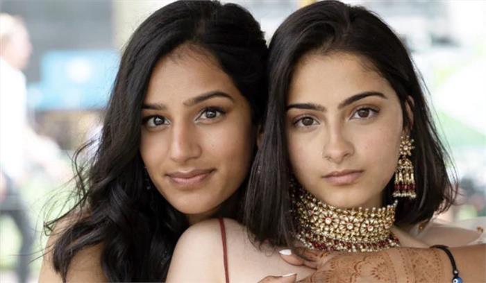 हिंदू-मुस्लिम लड़कियों को हुआ प्यार , दोनों का फोटोशूट हुआ सोशल मीडिया में वायरल