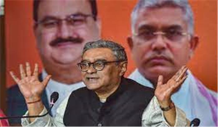 TMC को फिर झटका , पार्टी ने घेरा तो स्वपन दासगुप्ता ने दिया राज्यसभा से इस्तीफा , BJP के टिकट पर लड़ेंगे चुनाव