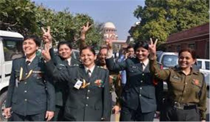 अब महिला अफसरों को सेना में मिलेगा स्थाई कमीशन सुप्रीम कोर्ट ने खारिज किया केंद्र सरकार का विरोध
