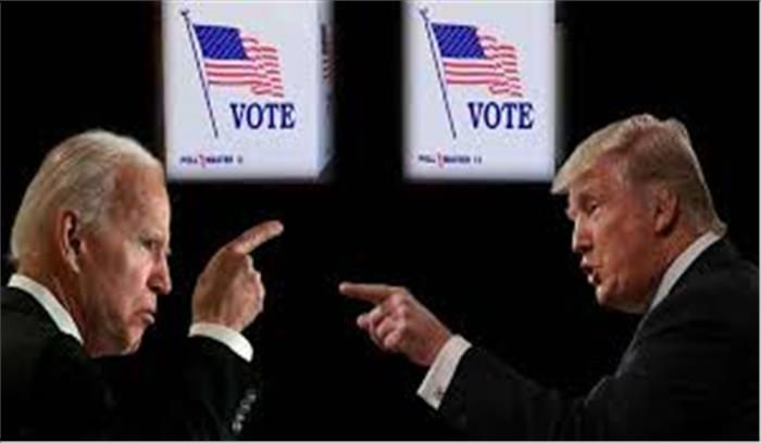 US election result live - आखिरकार ट्रंप ने इलेक्टोरल वोट में बनाई बढ़त , बिडेन को इलेक्टोरल वोट में पछाड़ा