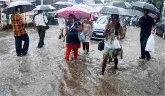 अगले तीन दिन भारी बारिश की चेतावनी , मौसम विभाग ने इन राज्यों के लिए जारी किया अलर्ट