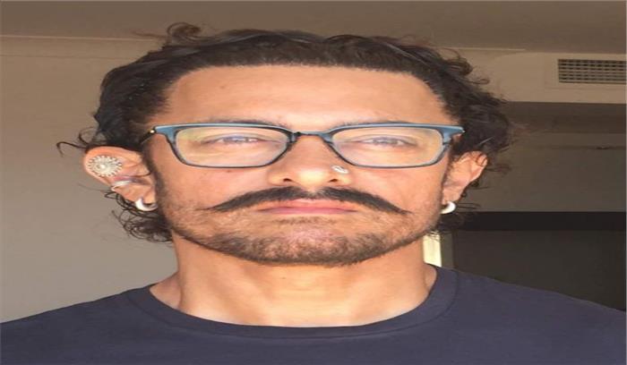 ठग्स ऑफ हिंदोस्तान के लिए आमिर का नया लुक, छिदवाए कान-नाक, बिना सोए बिताईं कई रातें