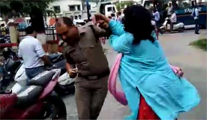 पुलिस वालों से मारपीट करने वाली जज पर होगी कार्रवाई, इलाहाबाद हाईकोर्ट से मांगी अनुमति