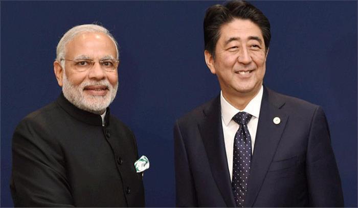 पीएम मोदी संग जापान के प्रधानमंत्री शिंजो अबे अहमदाबाद में कल करेंगे रोड शो