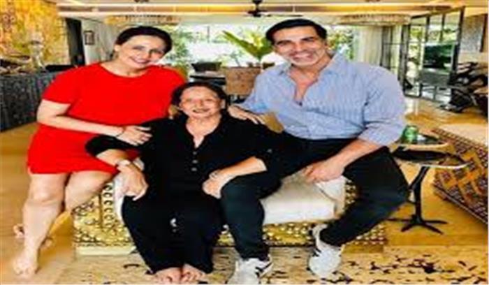 अक्षय कुमार की मां का निधन , शेयर किया भावुक संदेश.....बर्दाश्त नहीं किया जा सकता