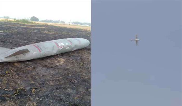 अंबाला में विमान के फ्यूल टैंक खेतों में गिरा , लोग दहशत के चलते घरों में दुबके