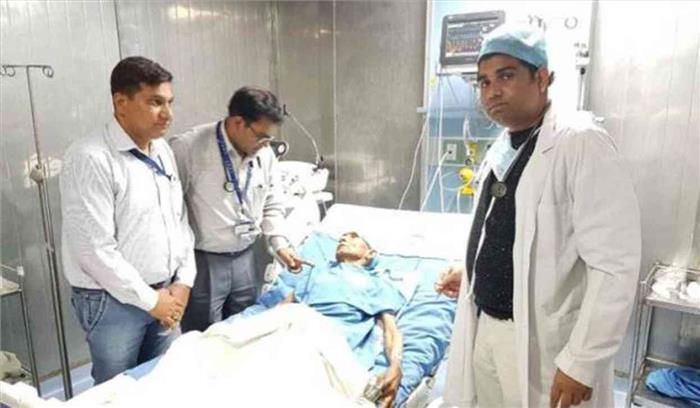 मुख्यमंत्री योगी आदित्यनाथ के पिता की तबीयत बिगड़ी, हिमालन अस्पताल में हुए भर्ती