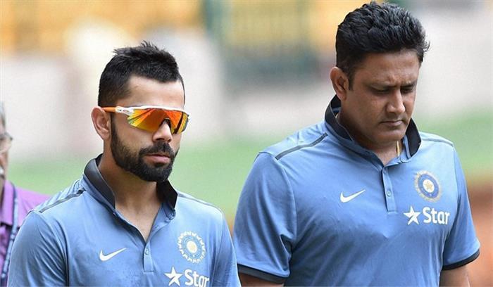 भारतीय क्रिकेट टीम के कोच अनिल कुंबले ने अपने पद से दिया इस्तीफा, कहा कप्तान विराट कोहली को थी मुझसे परेशानी