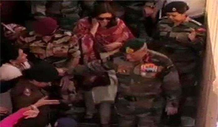 थलसेना प्रमुख बिपिन रावत उत्तराखंड में , बद्रीनाथ के बाद गंगोत्री धाम के पत्नी संग किए दर्शन