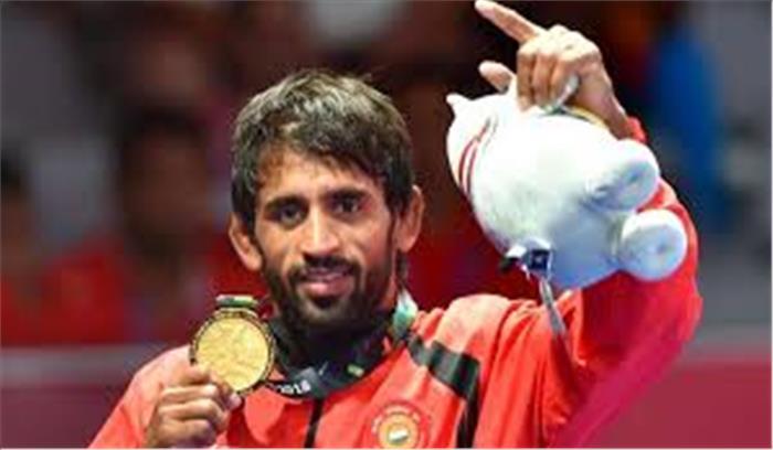 एशियन गेम्स 2108ः पहलवान बजरंग पुनिया ने देश को दिलाई स्वर्णिम सफलता, सुशील कुमार हारकर हुए बाहर