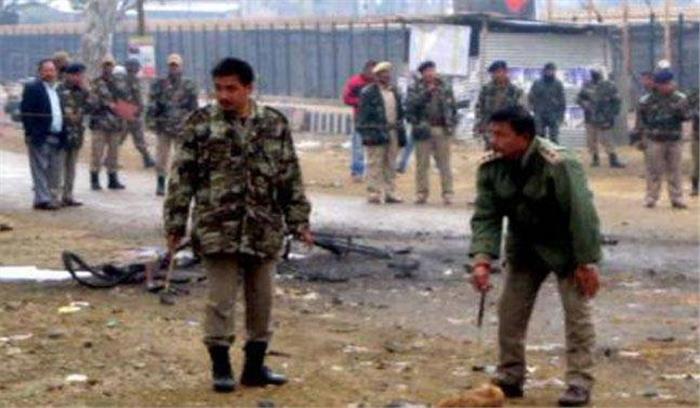 मणिपुर के चंदेल शहर में आतंकियों ने किया धमाका, असम राइफल्स के 2 जवान शहीद, 4 घायल