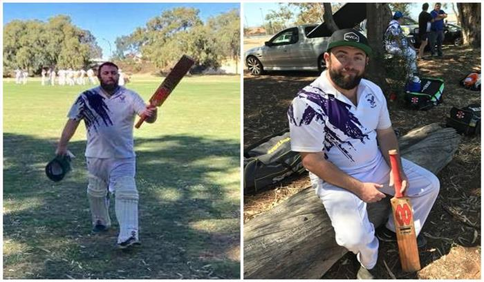 महज 35 ओवर के मैच में इस बल्लेबाज ने लगाया तिहरा शतक, जड़े 40 ताबड़तोड़ छक्के