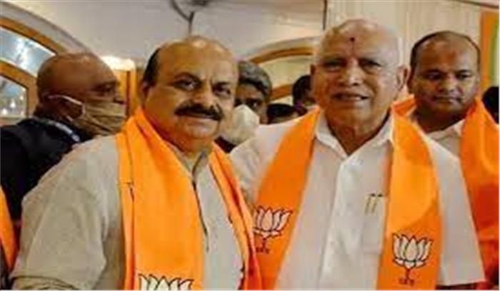 बसवराज बोम्मई बने कर्नाटक के 23वें मुख्यमंत्री , संघ के करीबी और पेशे से इंजीनियर ने ली CM पद की शपथ