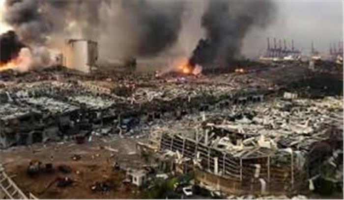 लेबनान में परामणु बम विस्फोट जैसा विस्फोट , 4000 लोग घायल -100 से ज्यादा की मौत, रूह कंपाने वाले वीडियो वायरल