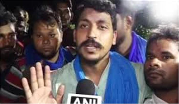 जेल से रिहा होती की भाजपा के खिलाफ दहाड़ा 'रावण', 2019 में उखाड़ फेंकने की अपील