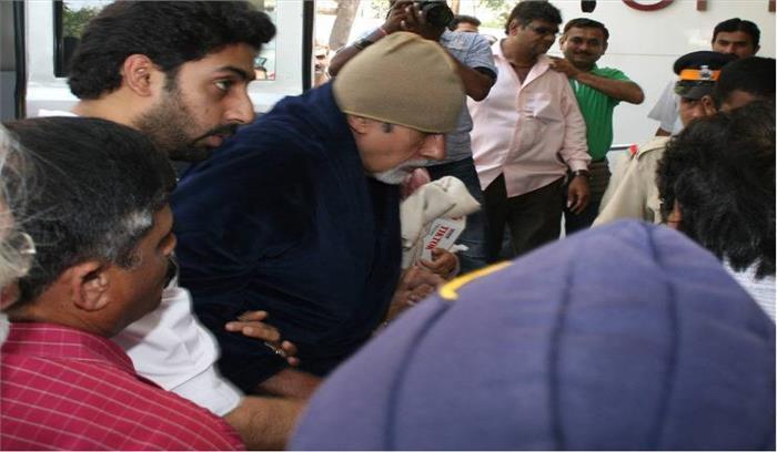 Breaking news- अमिताभ बच्चन की शूटिंग के दौरान तबीयत खराब, मुंबई जाने की योजना रद्द, जोधपुर में ही होगा इलाज