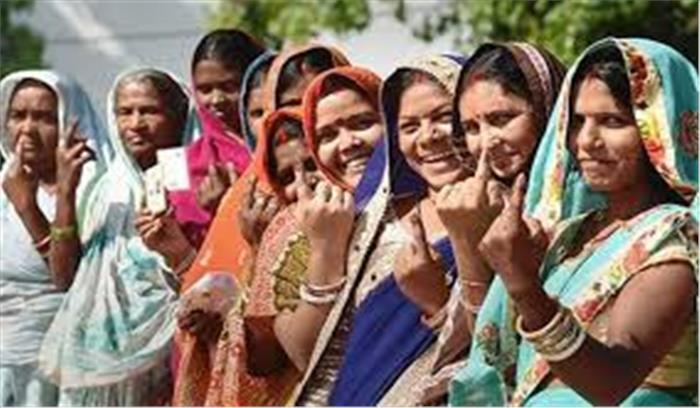बिहार में तीसरे चरण का मतदान - सुबह 12 बजे तक 24 फीसदी मतदान,