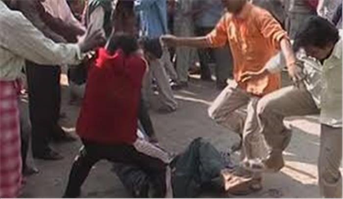 बिहार में माॅब लिंचिंग की हुई घटना, स्कूल की बच्ची का अपहरण करने वालों की पीट-पीटकर की हत्या