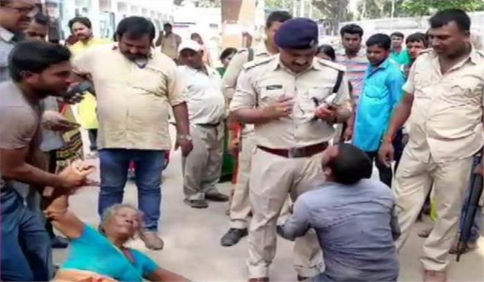बिहार के सारण में Mob lynching , पशु चोरी के आरोप में 3 लोगों की पीट -पीटकर हत्या