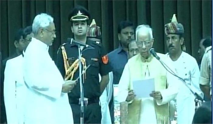 छठवीं बार बिहार के मुख्यमंत्री बने नीतीश कुमार, राज्य में फिर बनी जदयू—भाजपा की सरकार