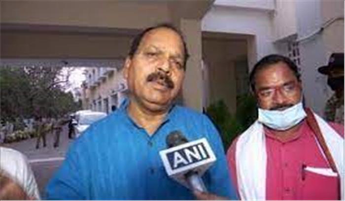 भाजपा विधायक ने विधानसभा में सेनिटाइजर पीकर खुदकुशी की कोशिश की , कहा- कोई और चारा नहीं
